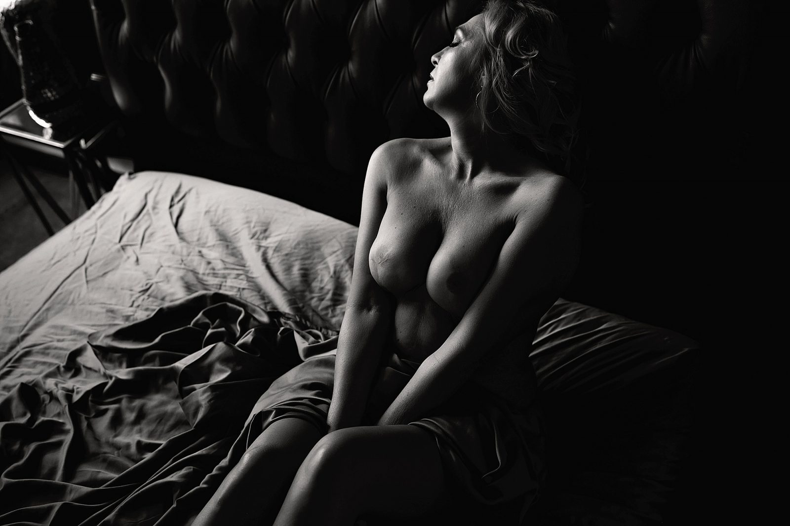 los angeles boudoir nude photography