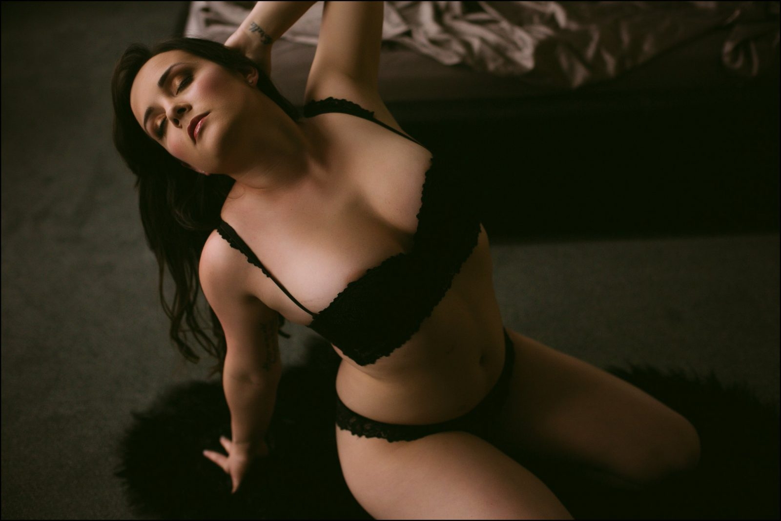 sensual boudoir photographer sf