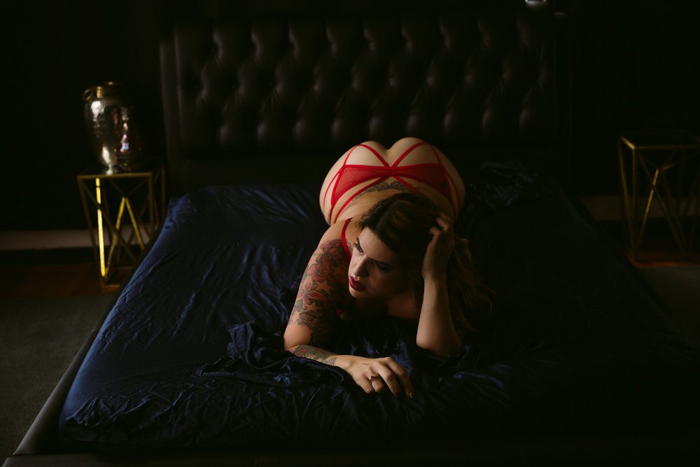 sexy bay area boudoir photo