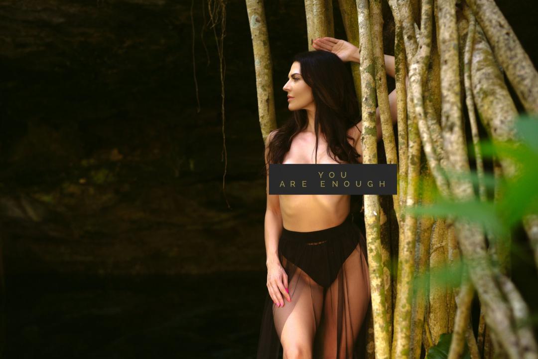 Tulum cenote photo shoot