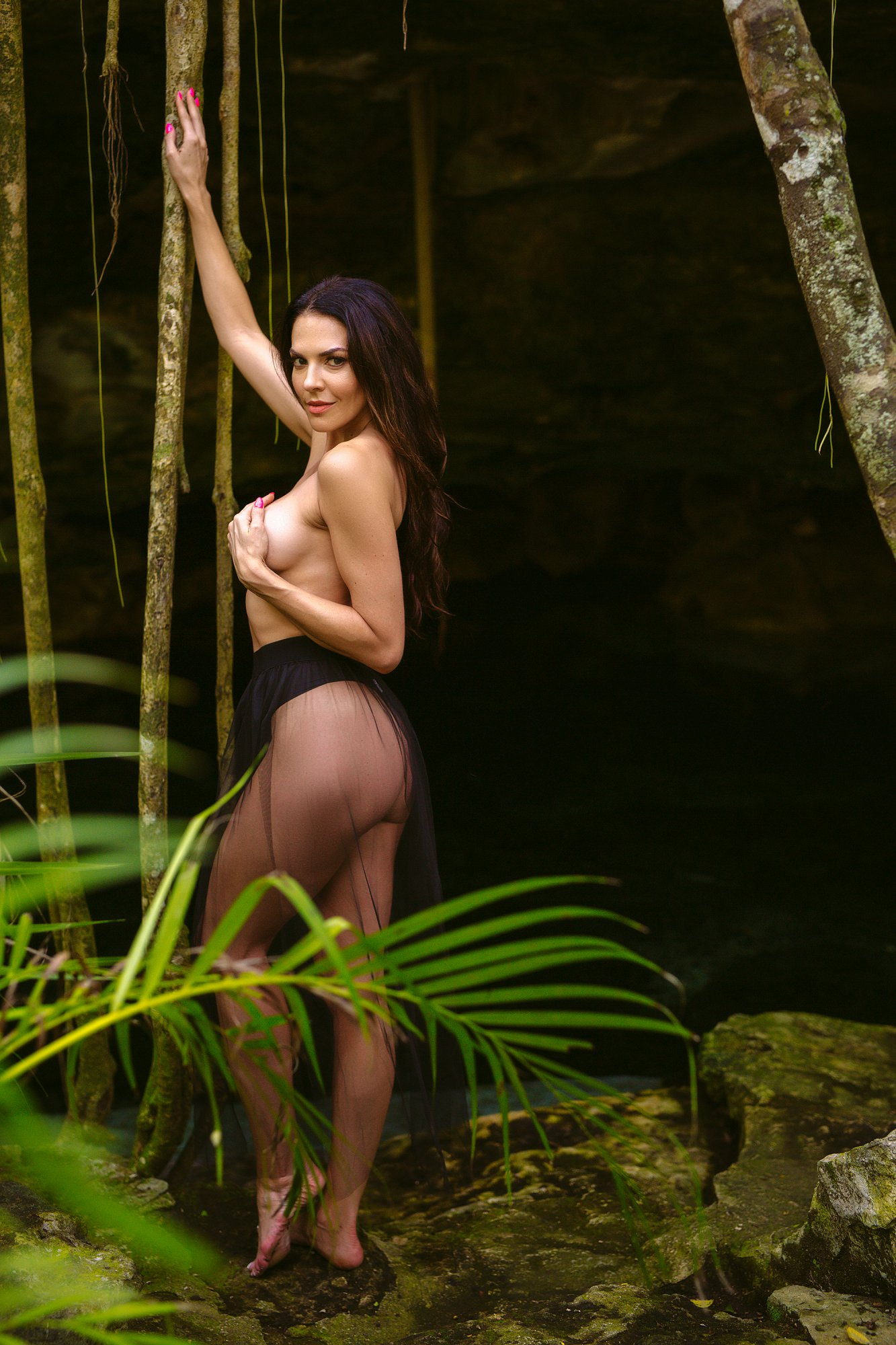 Tulum boudoir photographer