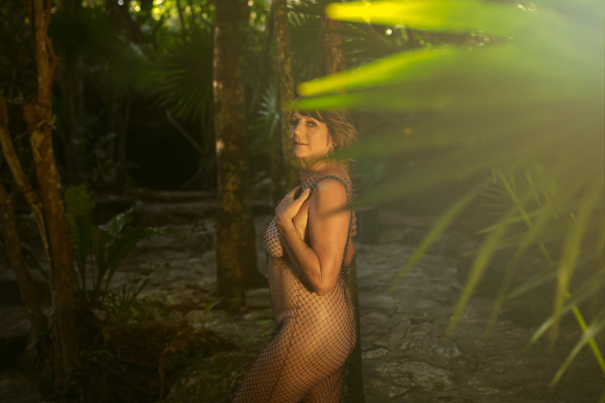 tulum boudoir photo shoot